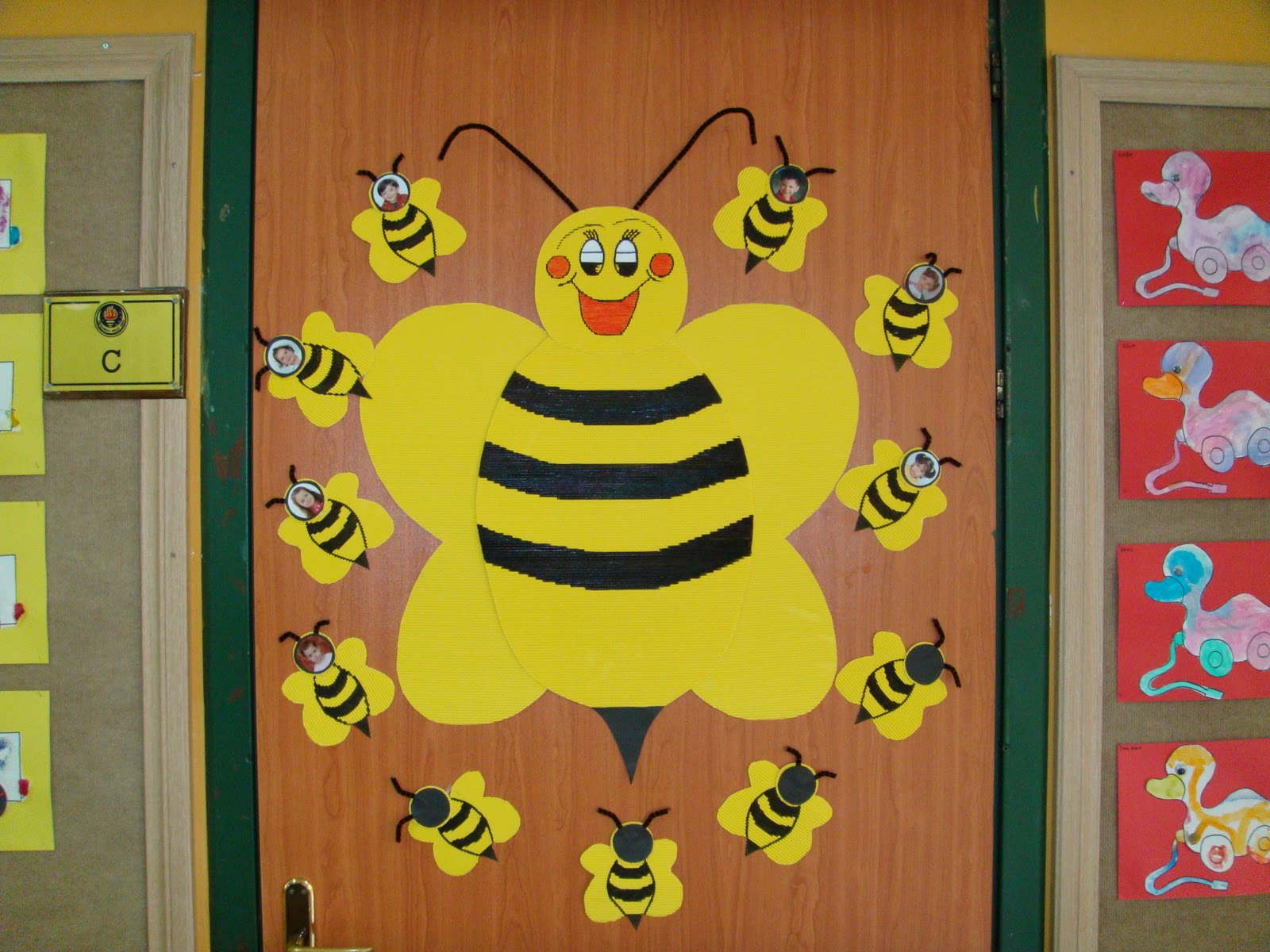 Preschool Classroom Door Decoration Ideas ~ Preschool door decorations « and homeschool