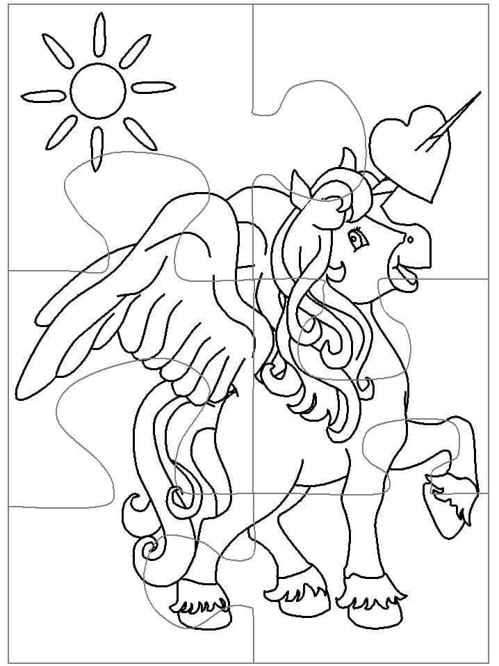 Puzzle Piece Coloring Pages Coloring Coloring Pages