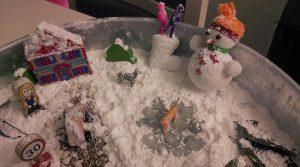 snowman-sensory-bin