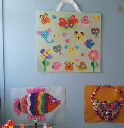 tissue-paper-fish-craft