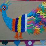 Peacock crafts for preschoolers