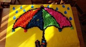 tissue-paper-umbrella-craft
