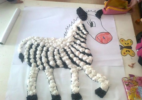 Zebra craft ideas Funny crafts