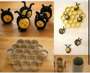 toilet-paper-roll-bee-craft
