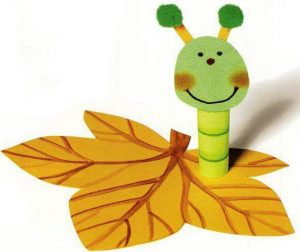 toilet-paper-roll-caterpillar-craft