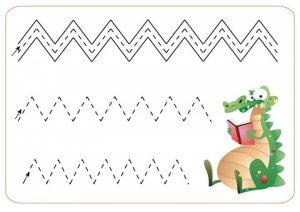 tracing-zig-zag-lines-9