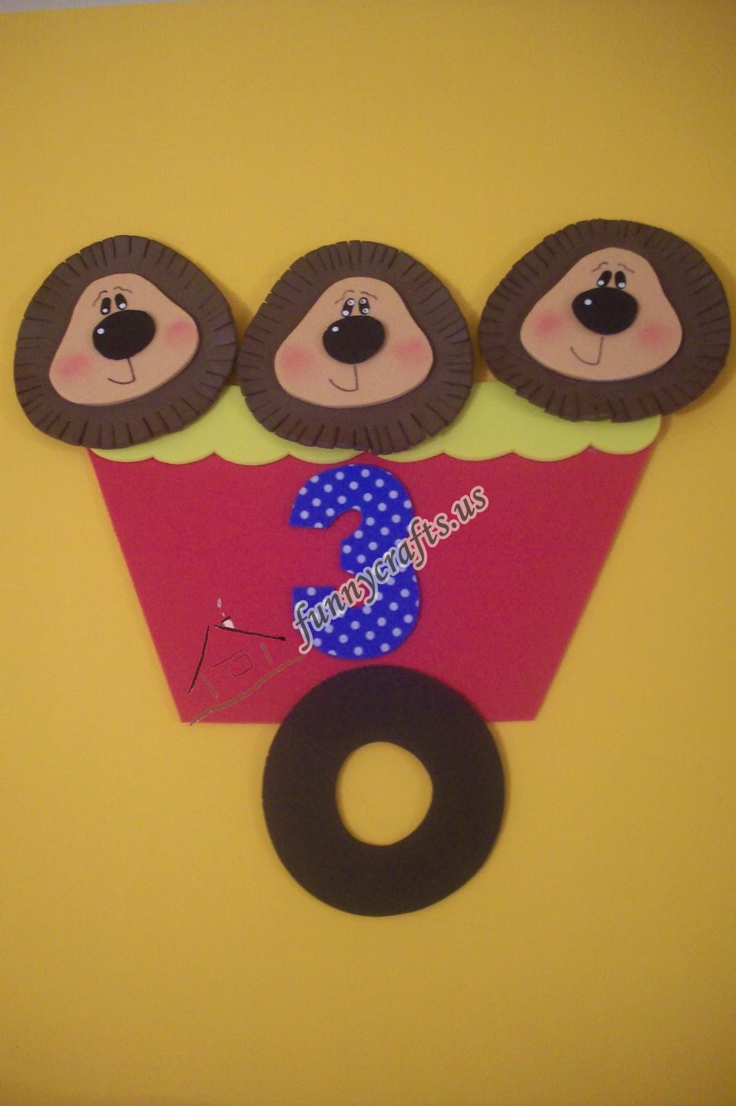 Number  Puppet Craft