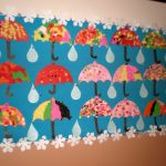 Umbrella crafts for preschool