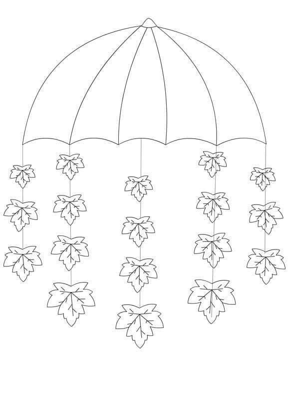 Printable Spring Classroom Decorations ~ Umbrella craft template « preschool and homeschool