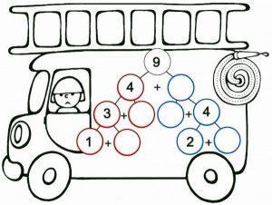 vehicles-addition-worksheet-4