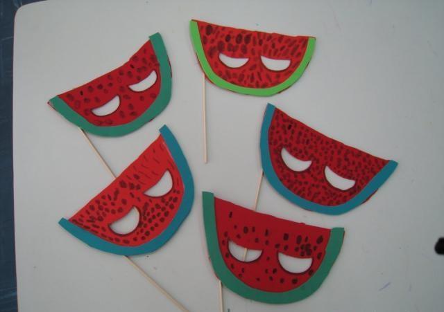 watermelon-mask-craft