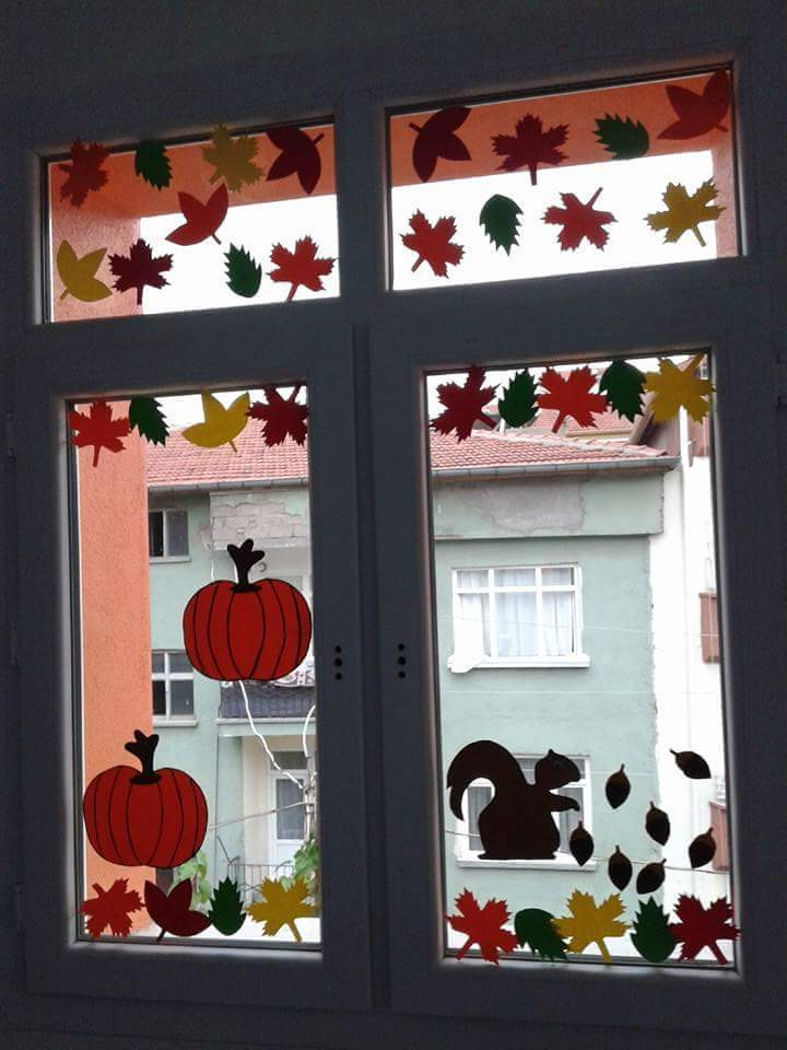 Window Decoration Ideas For Classroom ~ Windows decorations for classroom « funnycrafts
