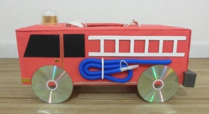 Us Mail Truck Craft Preschool