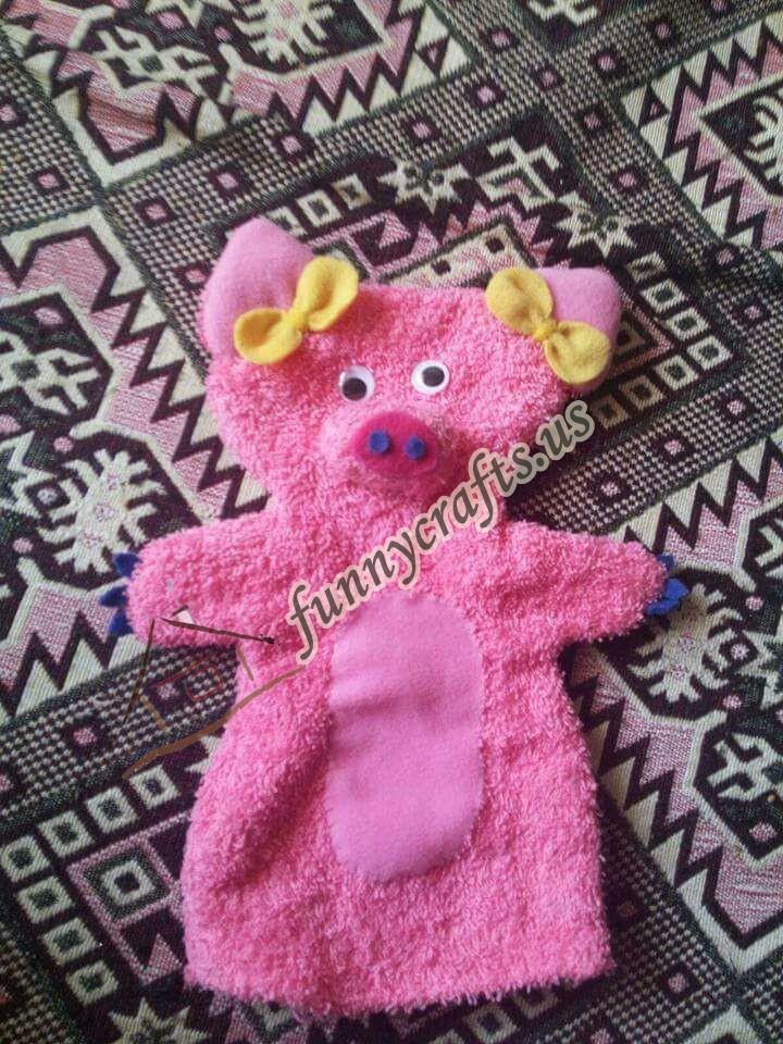 bear-puppet-craft