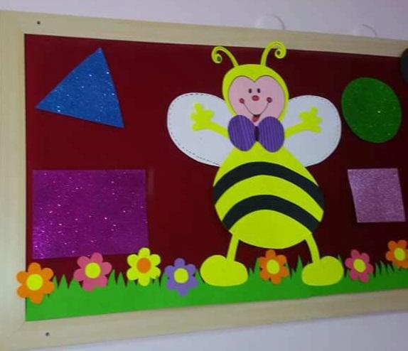 Bee Craft Idea For Preschoolers Bulletin Board Ideas 6