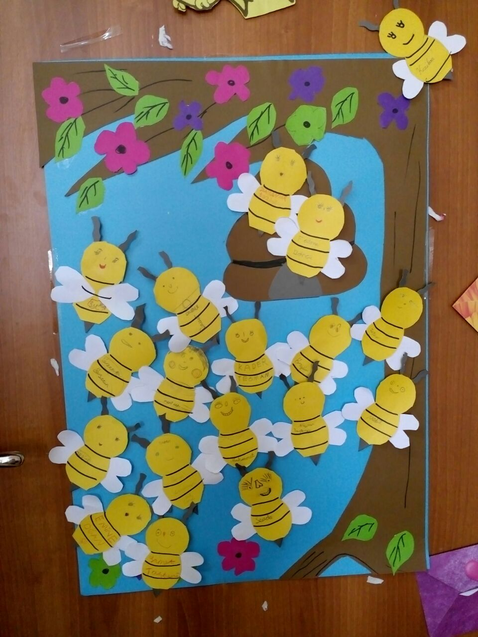 Bee Door Decorations For Kids 1 on Letter I Crafts For Preschoolers