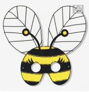 bee-mask-craft