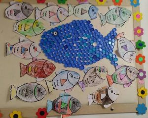 bootle-cap-fish-craft