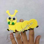 Hand-finger puppet designs