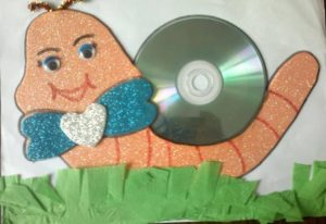 cd-snail-craft