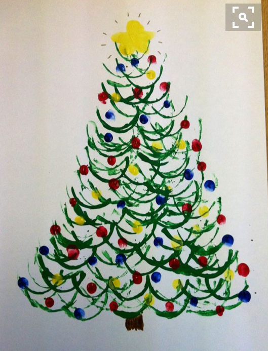 Christmas craft ideas  christmas-tree-art-and-craft-ideas-2