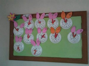 clock-bulletin-board-idea