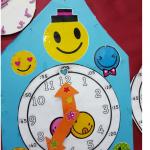 Clock project idea for kids