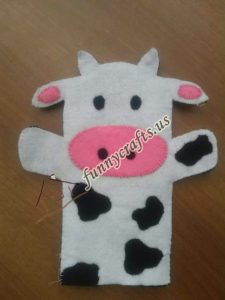 cow-puppet-craft
