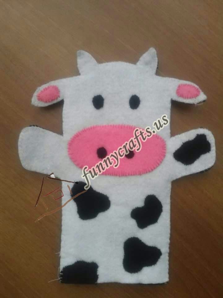 cow-puppet-craft