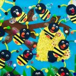 Bee craft idea for preschoolers