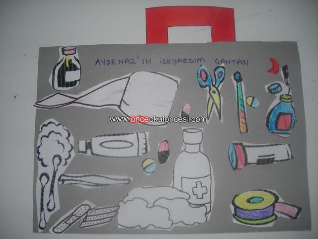 Doctor bag craft template preschool and homeschool for Doctor bag craft template