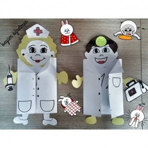 Doctor crafts and activities for preschool funny crafts for Doctor crafts for toddlers