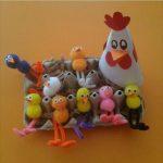 Chicken crafts for preschoolers