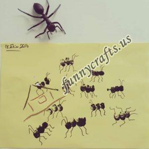 fingerprint-ant-crafts-arts