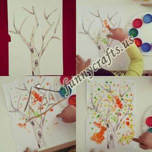 fingerprint-autumn-tree-crafts