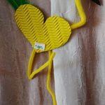 Flamingo craft for preschool