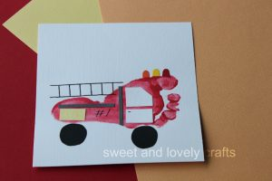 footprint-fire-truck-crafts