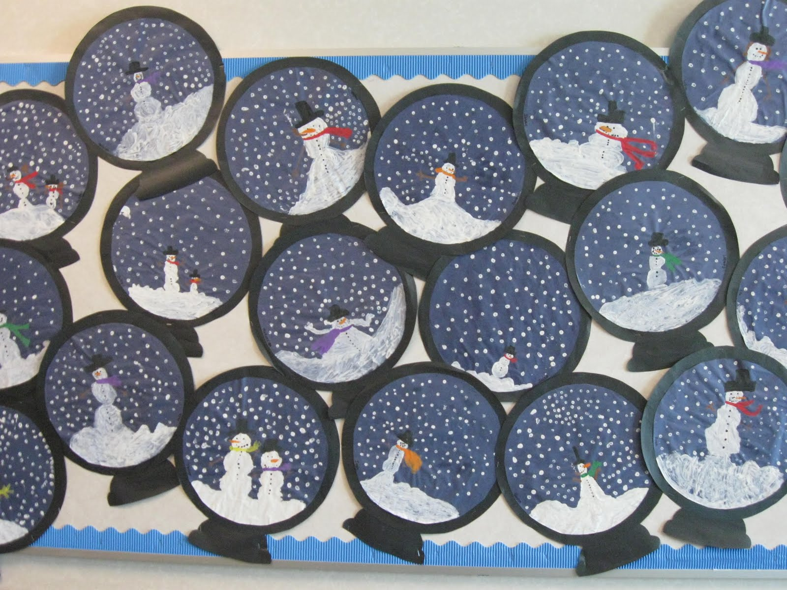 free-winter-and-christmas-craft-projects-with-snowman ...