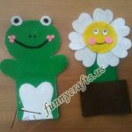Frog craft idea for preschoolers