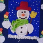 Christmas snowman crafts for preschool