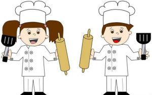 how-to-make-a-tissue-paper-chef-hat-for-kindergarten