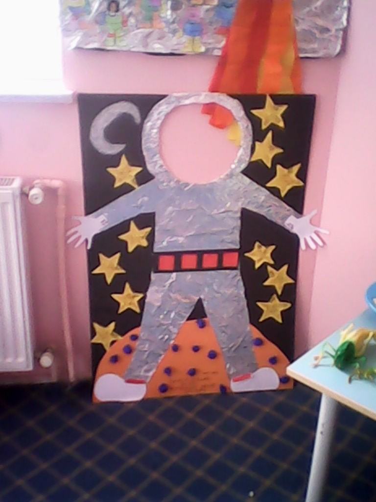 How To Make An Astronaut Out Of Paper Felt 1 171 Preschool