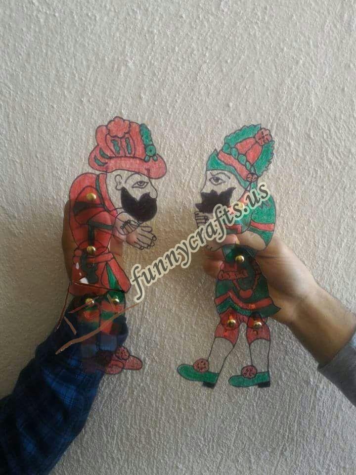 karagoz-and-hacivat-puppet-craft