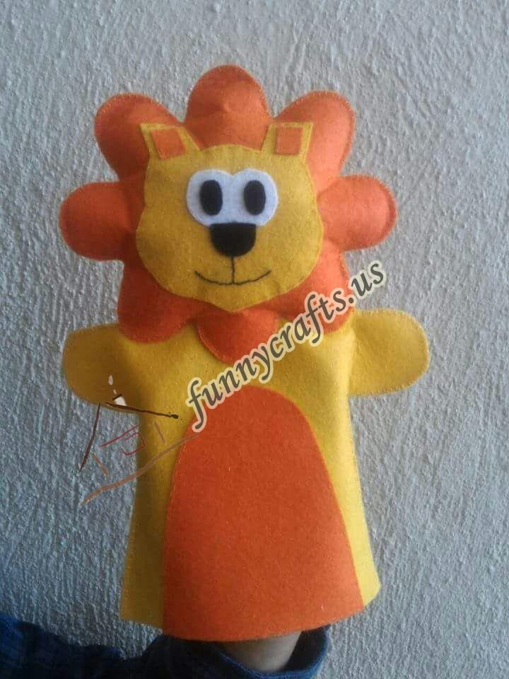 lion-puppet-craft