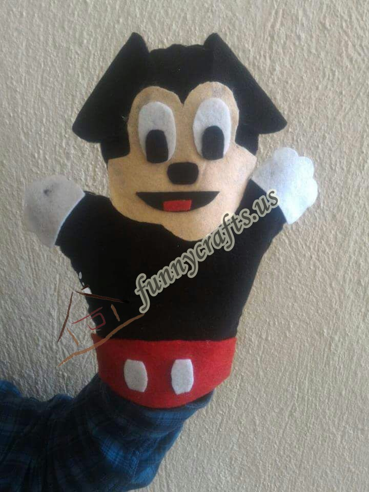 micky-mouse-puppet-craft
