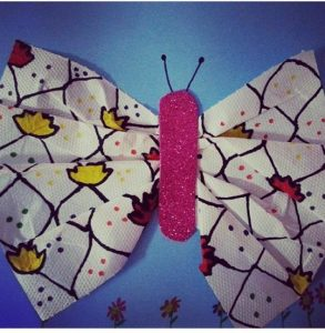 napkin-butterfly-craft