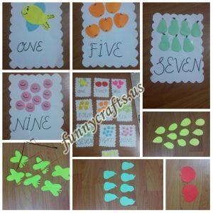 number-bulletin-board-idea