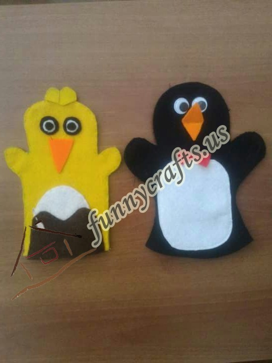 penguin-puppet-craft
