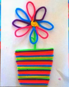 pipe-cleaner-flower-craft