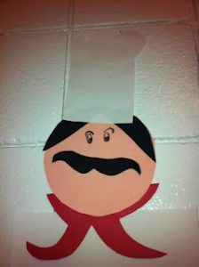 Chef crafts and activites for kids